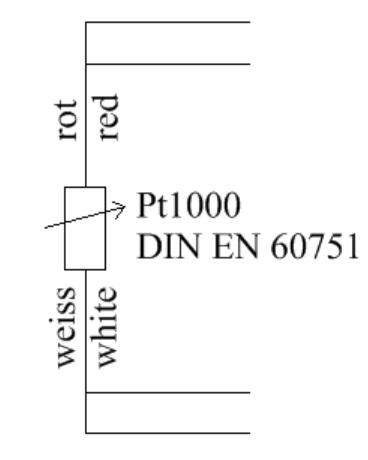 50°C bis 110°C  Fühler Sensor Einschraubfühler Gewinde Temperaturfühler NTC